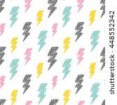 abstract thunder background   Shutterstock .eps vector #448552342