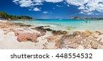 Small photo of Cala Agulla near Arta with turquoise clear water, Majorca, Spain