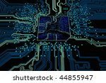 blue chip   Shutterstock . vector #44855947