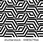 abstract geometric pattern with ... | Shutterstock . vector #448567966