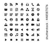 simple ui universal icons set   ...