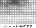 abstract silver background.... | Shutterstock . vector #448599592