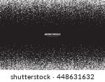 abstract bright white shimmer... | Shutterstock .eps vector #448631632