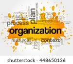 organization word cloud collage ... | Shutterstock .eps vector #448650136