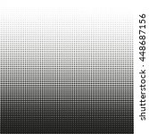 small dots halftone vector... | Shutterstock .eps vector #448687156