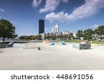 Empty Skate Park At The Vienna...