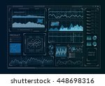 human user display | Shutterstock . vector #448698316