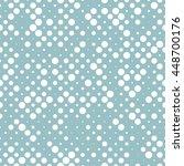 classic seamless polka dot... | Shutterstock .eps vector #448700176