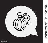 web line icon. perfume   Shutterstock .eps vector #448735708