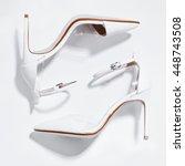 White Bridal Fashion Shoes...