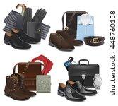 Vector Male Fashion Accessories