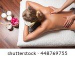 beauty treatment concept.... | Shutterstock . vector #448769755