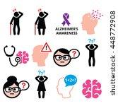 seniors health   alzheimer's... | Shutterstock .eps vector #448772908