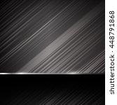 dark chrome steel abstract...   Shutterstock .eps vector #448791868