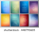 vector design template... | Shutterstock .eps vector #448793605