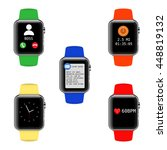 vector smart watch with...
