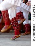 abstract motion feet of dancers ... | Shutterstock . vector #448819552