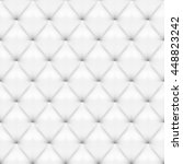 seamless white leather... | Shutterstock .eps vector #448823242
