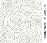 vector seamless pattern with... | Shutterstock .eps vector #448835272