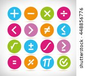 math icons | Shutterstock .eps vector #448856776