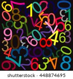 abstract vector background.... | Shutterstock .eps vector #448874695
