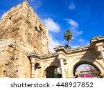 Hadrian's Gate In Antalya. Asia ...