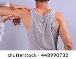 chiropractic  osteopathy ... | Shutterstock . vector #448990732