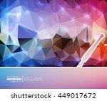 abstract creative concept...   Shutterstock .eps vector #449017672