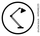 table lamp.  modern desk lamp...   Shutterstock .eps vector #449048155