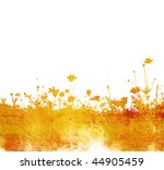 floral style textures with... | Shutterstock . vector #44905459