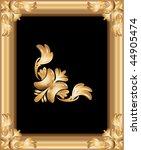 golden suitable frames | Shutterstock .eps vector #44905474