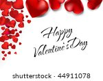 vector love card | Shutterstock .eps vector #44911078