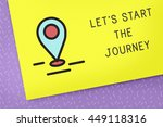 journey trip travel discover... | Shutterstock . vector #449118316