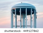 A Water Tower In The Deep Blue...