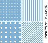set of four blue backgrounds. | Shutterstock . vector #449136802