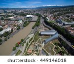 aerial view of the central part ...   Shutterstock . vector #449146018