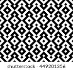 seamless abstract geometric... | Shutterstock .eps vector #449201356