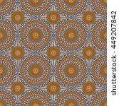 vector seamless pattern.... | Shutterstock .eps vector #449207842