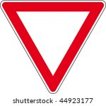 road sign | Shutterstock . vector #44923177