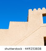 fort battlesment sky and   ... | Shutterstock . vector #449253838