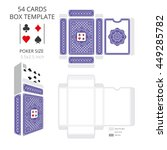 Poker Card Size Tuck Box...