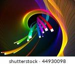abstract background  vector ... | Shutterstock .eps vector #44930098
