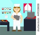 cook   Shutterstock .eps vector #449328838