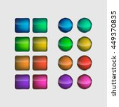vector colorful square   circle ... | Shutterstock .eps vector #449370835