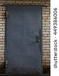 gray metallic doors   Shutterstock . vector #449386006