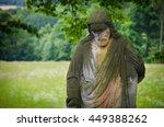 Jesus Christ Sandstone Statue...
