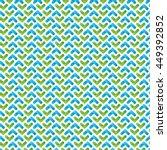 seamless volume geometric... | Shutterstock .eps vector #449392852