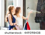 sale  consumerism and people... | Shutterstock . vector #449398438