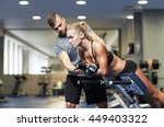 sport  training  fitness ... | Shutterstock . vector #449403322