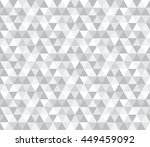 abstract geometric triangle... | Shutterstock .eps vector #449459092